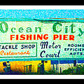 Topsail Island Old Sign by Betsy Knapp