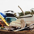 Tornado Plowed Destruction 3d by Stanley Morganstein