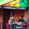 Tortilla Flats Greenwich Village by Susan Savad
