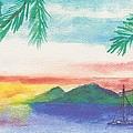Tortola Sunset by Katherine Shemeld