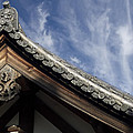 Toshodai-ji Temple Roof Gargoyle - Nara Japan by Daniel Hagerman