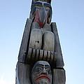 Totem Pole 14 by Bob Christopher