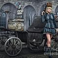 Tough Lady by Jutta Maria Pusl