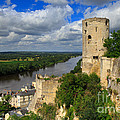 Tour Du Moulin And The Loire River by Louise Heusinkveld