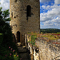 Tour Du Moulin At Chateau Chinon by Louise Heusinkveld