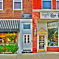 Tourist Hotel-downtown Perrysburg by Jack Schultz