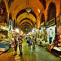 Tourists At The Grand Bazaar by Michael Garyet