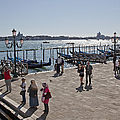 Tourists In Venice by Madeline Ellis