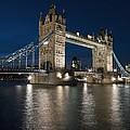 Tower Bridge Dusk by Axiom Photographic