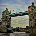 Tower Bridge London by Heather Applegate