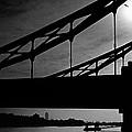 Tower Bridge Silhouette by Aldo Cervato