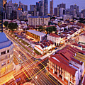 Towers And Shophouses by (C) Jonathan Chiang/Scintt