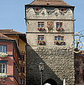Town Gate Schwarzes Tor In Rottweil Germany by Matthias Hauser