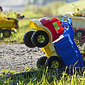 Toy Truck Planters by Gordon Wood