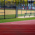 Track And Baseball Diamond by Inti St. Clair