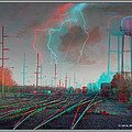 Tracking The Storm - Red-cyan Filtered 3d Glasses Required by Brian Wallace