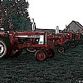 Tractor Row by George Pedro