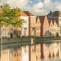 Traditional Brugge Buildings by Image by Dr. Ewan Photography. All Rights Reserved