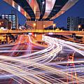 Traffic Trails by Y2-hiro