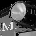 Train Headlight by Darleen Stry