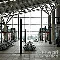 Train Station Waiting Area by Yali Shi