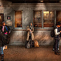 Train - Station - Waiting For The Next Train by Mike Savad