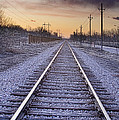 Train Tracks And Color 2 by James BO  Insogna
