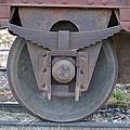 Train Wheel by Paul Van Scott