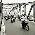 Trang Tien Bridge by Shaun Higson