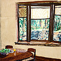 Tranquility 5 Cabin In The Woods by Drina Fried