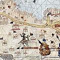 Trans-saharan Caravan Routes 1413 by Sheila Terry