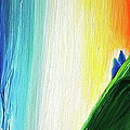 Travelers Rainbow Waterfall Detail by First Star Art