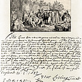 Treaty Between William Penn by Photo Researchers