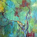 Tree Of Winding Color by Ruth Palmer