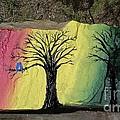 Tree With Lovebirds by Monika Shepherdson