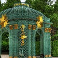 Trellis At Schloss Sanssouci by Jon Berghoff