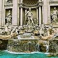 Trevi Fountain by Eric Tressler