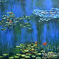 Tribute To Monet 1 by Shankhadeep Bhattacharya