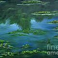 Tribute To Monet 2 by Shankhadeep Bhattacharya
