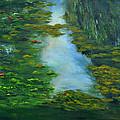Tribute To Monet 3 by Shankhadeep Bhattacharya