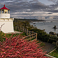 Trinidad Memorial Lighthouse After Storm by Greg Nyquist