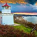 Trinidad Memorial Lighthouse Morning by Greg Nyquist