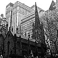 Trinity Church New York City by Eric Tressler