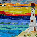 Trinity Lighthouse On The Bay Of Paradise by Charles McDonell