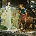 Tristram And Iseult by Herbert Draper