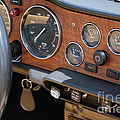 Triumph Tr 6 Dashboard by Mary Deal
