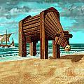 Trojan Cow by Russell Kightley