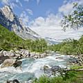 Trollstigen River by James Kennedy
