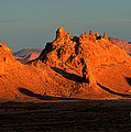 Trona Pinnacles Panorama by Bob Christopher