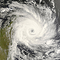 Tropical Cyclone Ivan Over Madagascar by Stocktrek Images